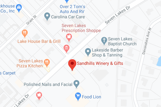Sandhills Winery Location